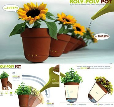 16 Creative & Modern Gardening Pots For Better Gardening