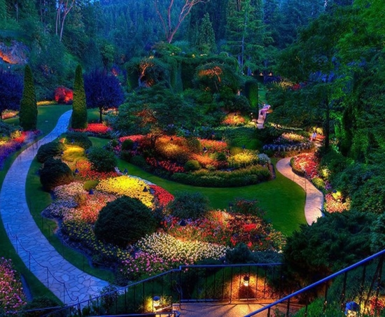 garden lighting ideas