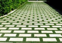 selecting paving material for lawns