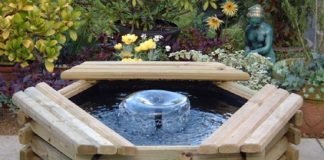tips for installing a water feature in a garden