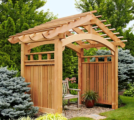 landscaping with trellis the garden central