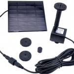 solar powered pond pumps